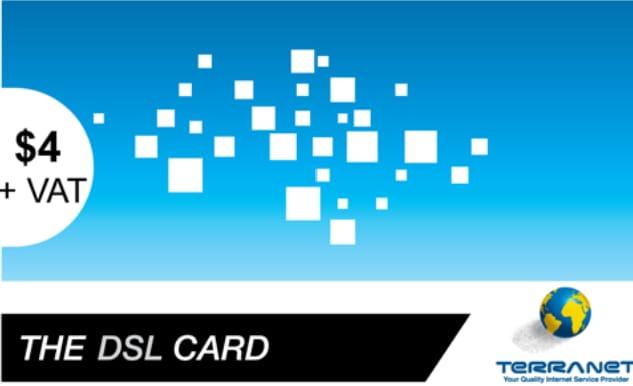 TERRA DSL$4 (EXTRA VOLUME) 4GB